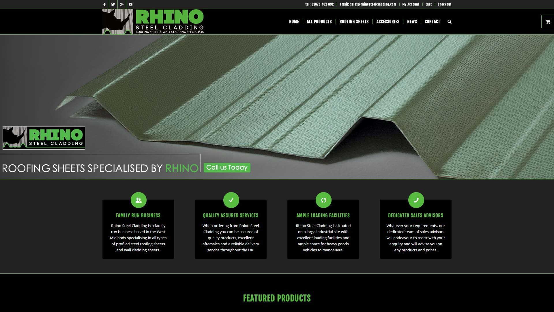 Rhino Steel Cladding