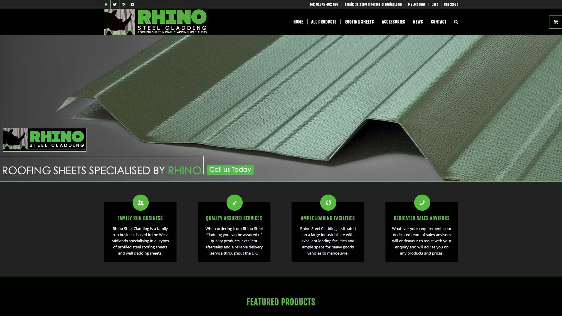 Rhino Steel Cladding
